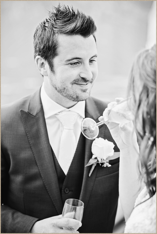 Besotted groom - Malcesine Castle Wedding